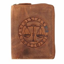 Greenburry Vintage Sternzeichen Geldbörse Leder 10 cm waage
