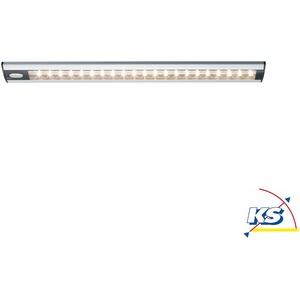Paulmann LED Unterbauleuchte TRIX Schrankleuchte, 4,2W, 230V/12V, Alu matt, mit Touchschalter EEK: A++ - A PAUL-70398