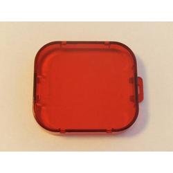 vhbw Filter Linsenschutz Rot Unterwasser passend für GoPro Hero 3,3+.