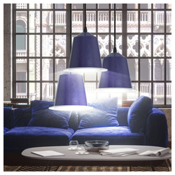 etc-shop Pendelleuchte, 3er Set LED 5 Watt Hänge Leuchten Pendel Lampen Beleuchtungen Lichter Strahler
