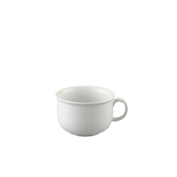 Thomas Porzellan Cappuccinotasse Trend Weiß Cappuccino-Obertasse (1-tlg)