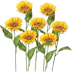 Kunstblume Kunstblume, Creativ green, Höhe 66 cm, (7er Set)