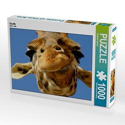Giraffe Lege-Größe 64 x 48 cm Foto-Puzzle Bild von Elisabeth Stanzer Puzzle