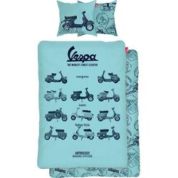 Wendebettwäsche Vespa, Vespa, mit Vespa blau