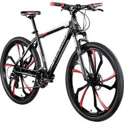 Galano Primal 650B Mountainbike Hardtail 27,5 Zoll MTB Mountain Bike Fahrrad Rad... 48 cm, schwarz/rot