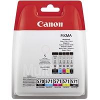 Canon PGI-570 pigmentschwarz + CLI-571 CMYK