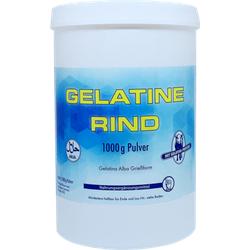 GELATINE Rind Pulver Halal 1000 g