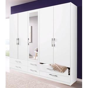 Rauch Kleiderschrank, T/H 54/210 Cm, Breite 225 Cm, 5