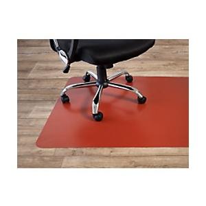 Bodenschutzmatte Floordirekt Pro Hartböden Rot Polypropylen 750 x 1200 mm