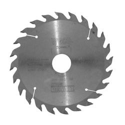DeWalt Kreissägeblatt (1-St), Kreissägeblatt Ø 165 mm 24 Zähne Sägeblatt Handkreissäge Holz Säge Blatt