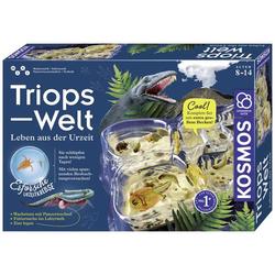 Kosmos 633073 Triops-Welt Triops züchten & Natur Experimentier-Set ab 8 Jahre