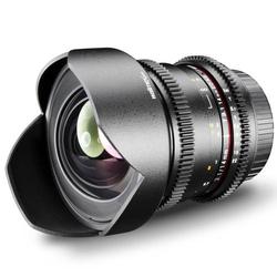 Walimex Pro 14/3,1 Objektiv VDSLR für Olympus 4/3 Weitwinkel-Objektiv f/1 - 3.1 14mm