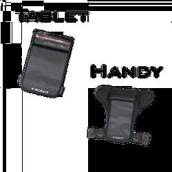 Held Handy/Tablet Bag, black, Größe S
