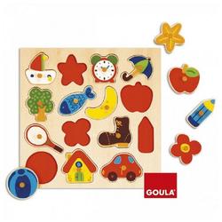 Goula Puzzle Puzzles bis 500 Teile GOU-53023, 15 Puzzleteile