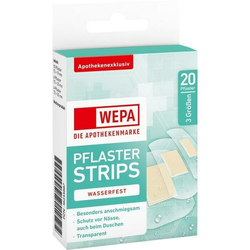 WEPA Pflaster Strips wasserfest 3 Größen