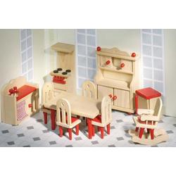 Goki Puppenmöbel Küche für Puppenhaus