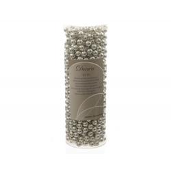 Perlenkette X-MAS silber