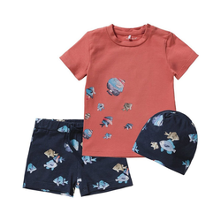 Name It T-Shirt Baby T-Shirt NBMFASOLLE für Jungen 80