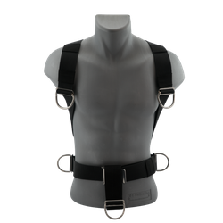 Scubaforce - Harness - TEC Harness Black Devil