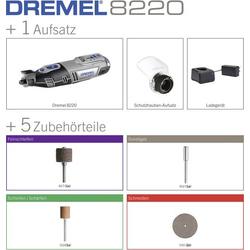 Dremel 8220-1/5 F0138220JA Akku-Multifunktionswerkzeug inkl. Akku 12V 2Ah
