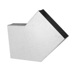 250 x 50 mm Flachkanal Bogen 45° waagerecht