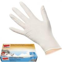 keine Angabe 100 Einmal Vinyl Handschuhe extra dünn puderfrei Größe L Einweghandschuhe