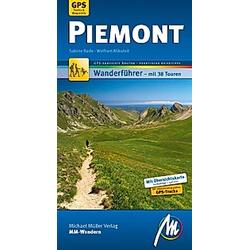 MM-Wandern Piemont. Sabine Bade  Wolfram Mikuteit  - Buch