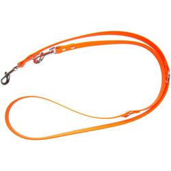 HEIM Hundeleine Biothane, Biothane, orange, B: 1,3 cm, versch. Längen 1,3 cm x 2 m