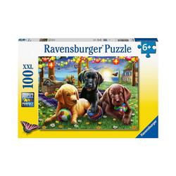 Ravensburger Puzzle XXL-Puzzle Hunde Picknick, 100 Teile, Puzzleteile