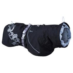 Hurtta Regenmantel Drizzle schwarz, Größe: 80 cm