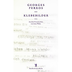 Klebebilder. Georges Perros  - Buch