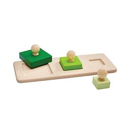 Knopfpuzzle Quadrate Steckpuzzle