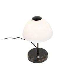 Design Tischlampe schwarz dimmbar inkl. LED - Joya