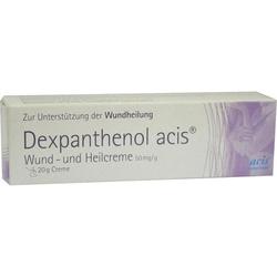 DEXPANTHENOL acis Wund- und Heilcreme 20 g