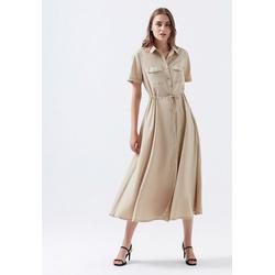 Mavi Maxikleid LONG DRESS Wadenlanges Kleid XL