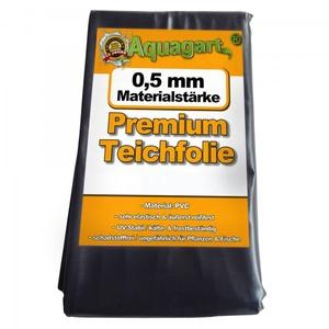 Teichfolie PVC 12m x 2m 0,5mm schwarz Folie für den Gartenteich