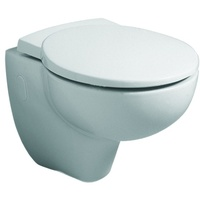 GEBERIT Joly WC-Sitz 571010000 weiss, Scharniere Edelstahl