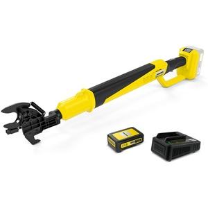 Kärcher TLO 18-32 Battery Akku-Astschere Starter Kit (Akku: 18 V / 2,5 Ah, 18 V Schnellladegerät, Schnittkraft 250 Nm, Gesamtlänge 0,91 m, Gewicht 2,0 kg, Leistung je Akkuladung: bis zu 375 Schnitte)