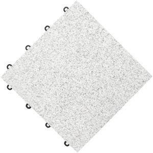 florco® Terrassenplatten stone, 30x30 cm, 4-St., Klickfliesen grau