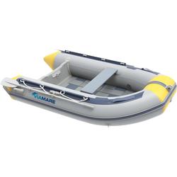 VIAMARE Schlauchboot 230 S Slat grau Boote Wassersportausrüstung Sportausrüstung Accessoires