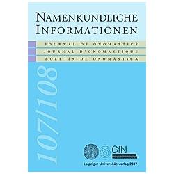 Namen und Übersetzung - Buch