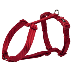 Trixie Premium H-Geschirr rot, Größe: L-XL