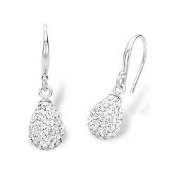 Amor Paar Ohrhaken 9124176, mit Kristallglasssteinen