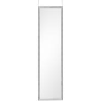Mirrors & More Türhängespiegel Bea in Silberfarbig, 30 x 120 cm
