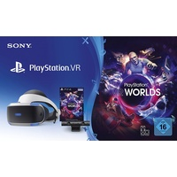 Sony PS4 Playstation VR V2 Headset + Camera + VR Worlds Voucher (Bundle)