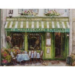 Gemälde FRANZÖSISCHES CAFÉ (LB 70x90 cm)