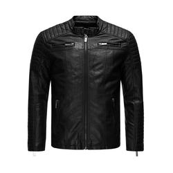 Redbridge Herren Bikerjacke schwarz, Größe L, 4560024
