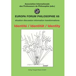 Identité - Identität - Identity: Buch von