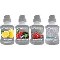 Sodastream Zitrone/Rote Beeren/Kirsche/Waldmeister 4x375 g