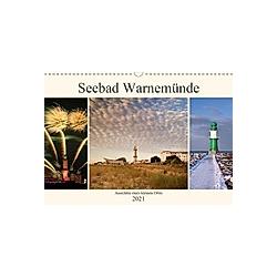 Seebad Warnemünde (Wandkalender 2021 DIN A3 quer)